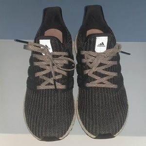Women's Adidas Ultra Boost - gray/carbon/pearl
